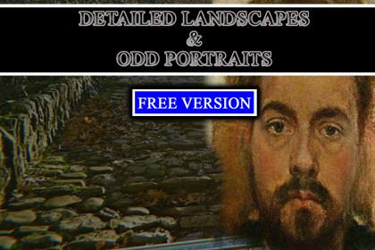 Detailed Landscapes & Odd Portraits | Free Version