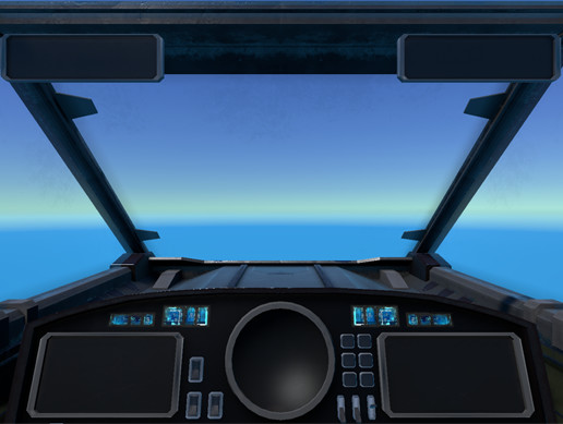 Spaceship Cockpit