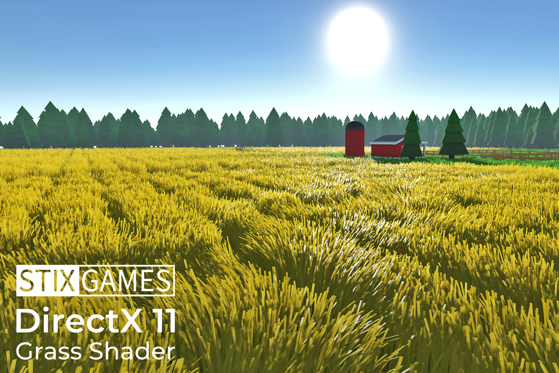 DirectX 11 Grass Shader