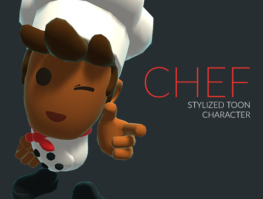 Chef | Stylized Toon Character