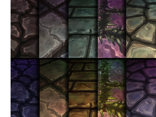 Hand Painted Textures: Stone Tiles