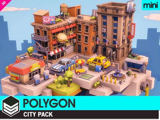 POLYGON MINI - City Pack