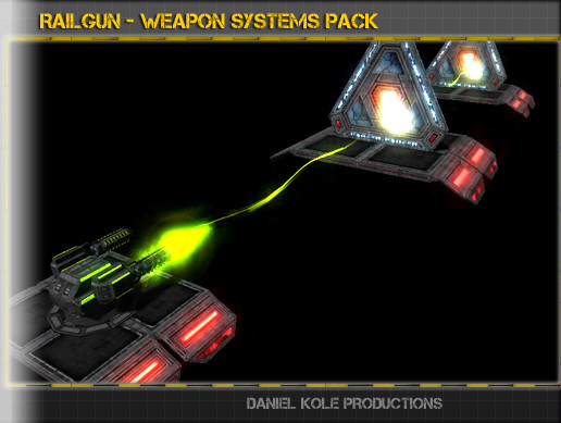 Railgun - Weapon Systems Pack