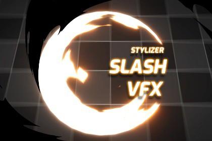 Stylized Slash VFX
