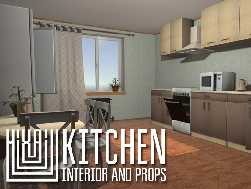 Kitchen - interior and props