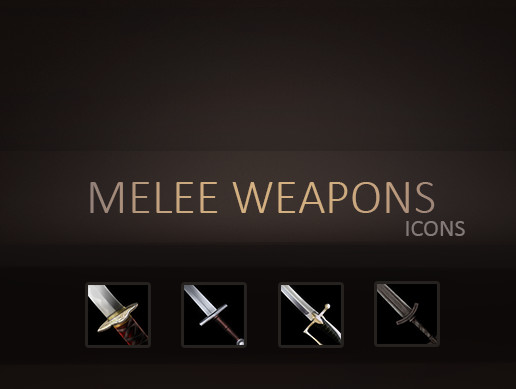 Melee Weapons Icons