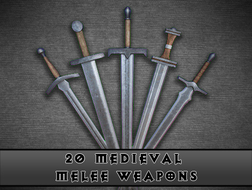 Medieval Weapons Pack [Melee]