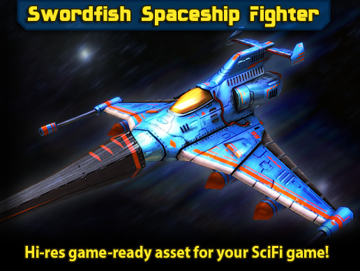 Swordfish Spaceship Fighter