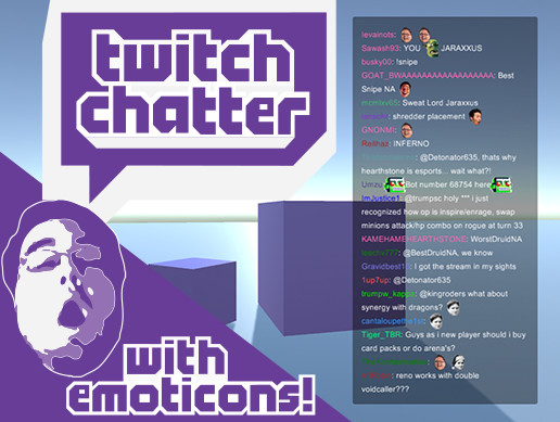 Twitch Chatter - Asset Store
