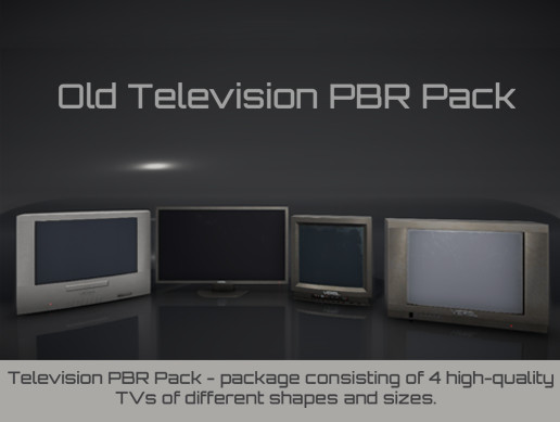 Old Television PBR Pack