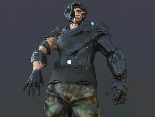 Soldier Cyber