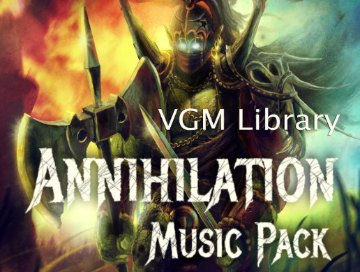 Annihilation - Metal Music Pack