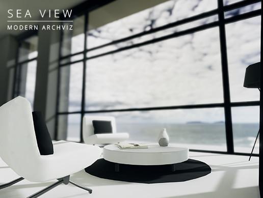 Modern ArchViz: Sea View