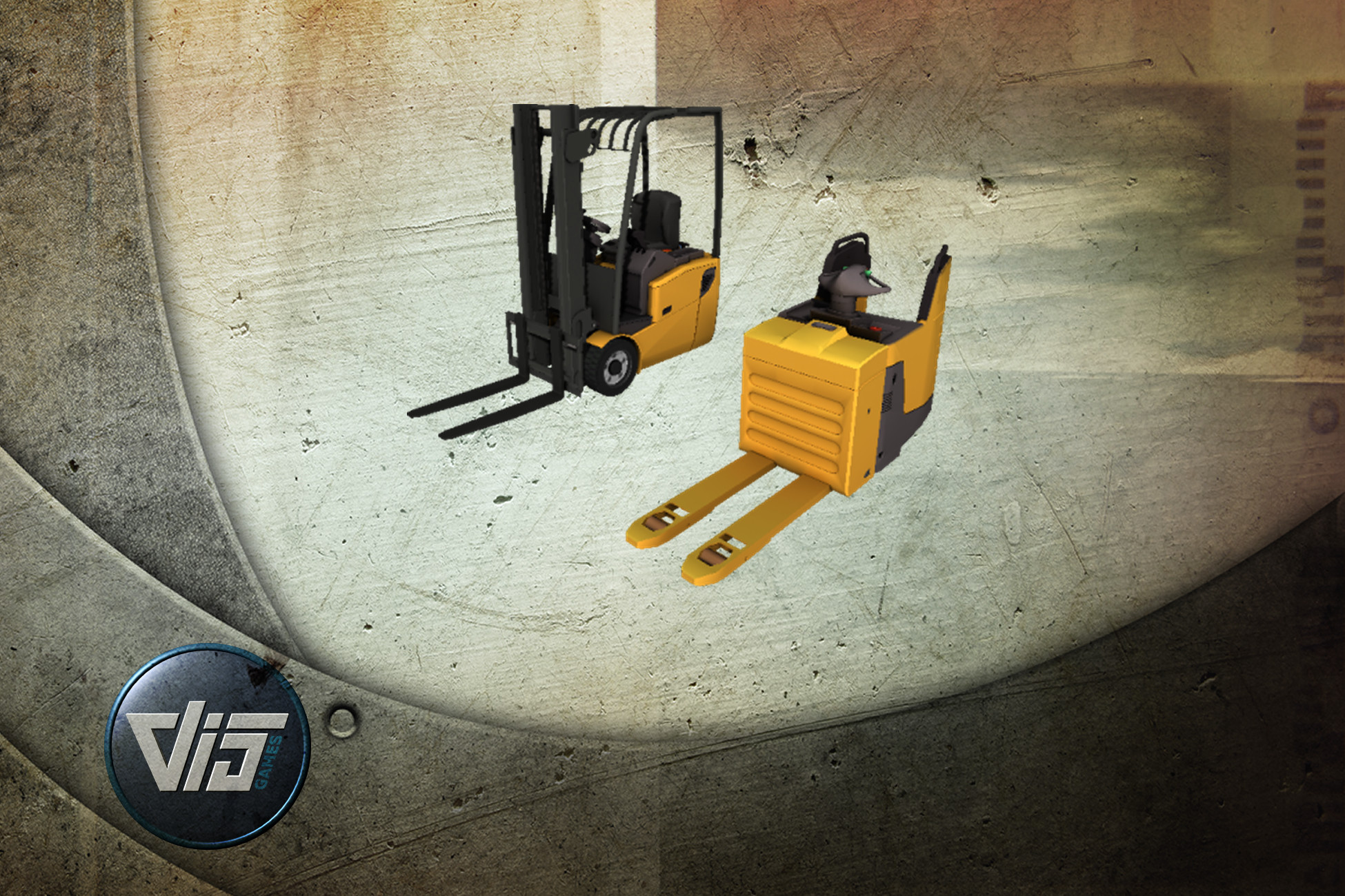High Detail Forklifts - 2