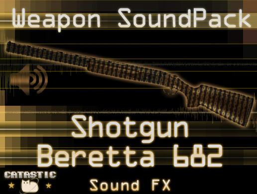 Weapon Sound Pack - Shotgun: Beretta 682