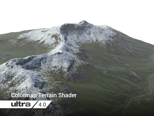 Colormap Ultra Terrain Shader 4.0