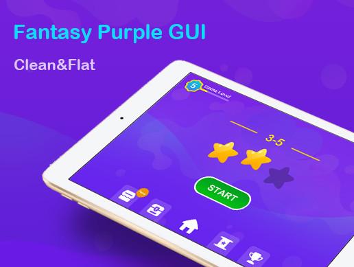 Fantasy Purple GUI Pack-Horizontal Mobile