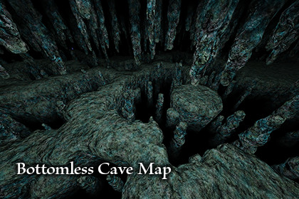 Bottomless Cave Map