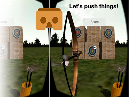 Cardboard VR Arrow Bow FPS Archery