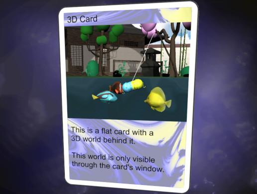 3D Game Card