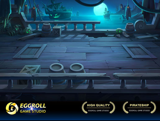 2D Horizontal battle Enviroment_02(PirateShip)
