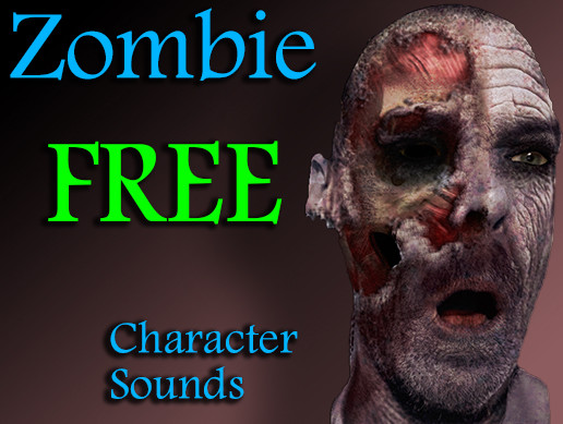 Free Zombie Character Sounds