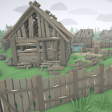 RPG Poly Pack - Abandoned Village