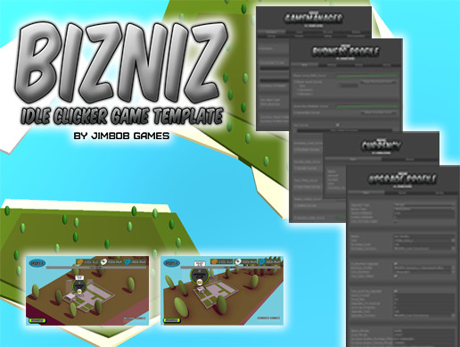 BIZNIZ Idle-Clicker Game Template