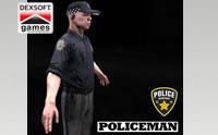 Policeman Animated Model