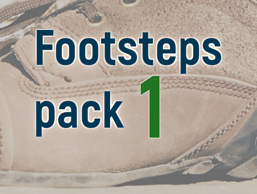 Footsteps pack 1