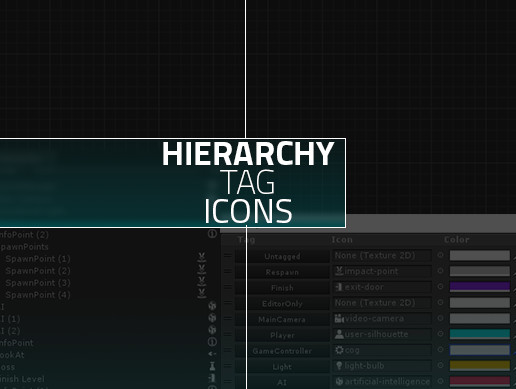 Hierarchy Tag Icons