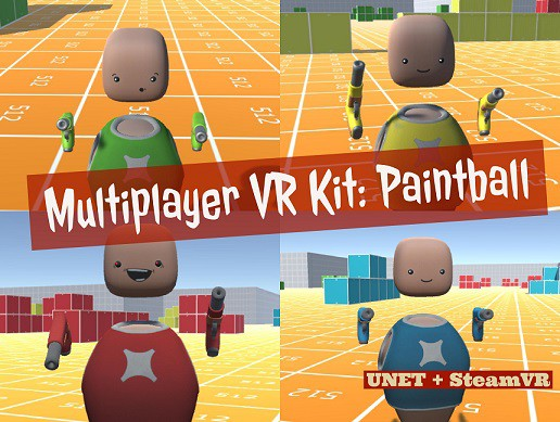 Multiplayer VR Starter Kit - Paintball - For UNET & SteamVR