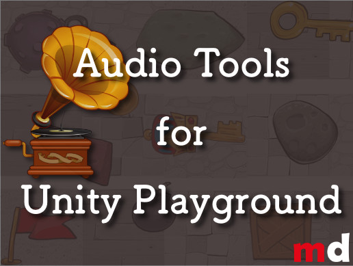 Audio Tools for Unity Playground