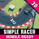 Simple Racer - Cartoon Assets