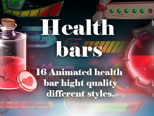 16 Health bar high quality