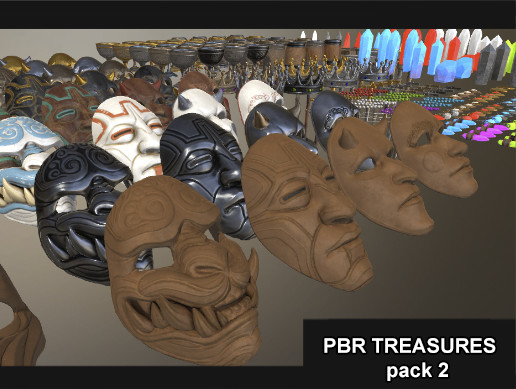 PBR Treasures pack 2