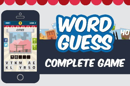 Word Guess 2D - Complete Game