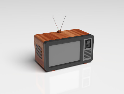 Television - Old Model
