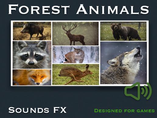 Forest Animals Sound FX - Asset Store
