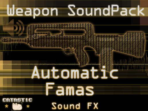 Weapon Sound Pack - Automatic Rifle: Famas