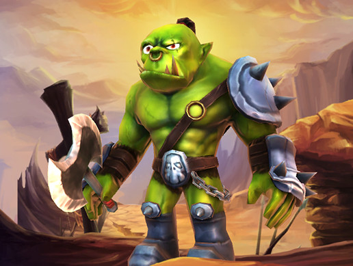 Quality Orc Warrior
