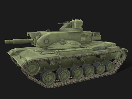 Tank М60А2