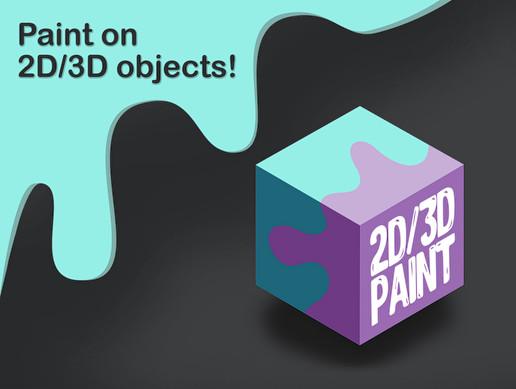 2D/3D Paint