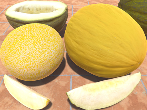 Melons Pack (Whole, Slices & Halves)