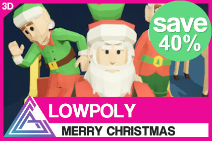 LOWPOLY - Merry Christmas