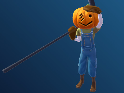 Stylised Toon Scarecrow(Reaper)