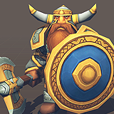 Toon RTS Units - Dwarves
