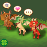 Cute Animal Pet (Young Dragon)