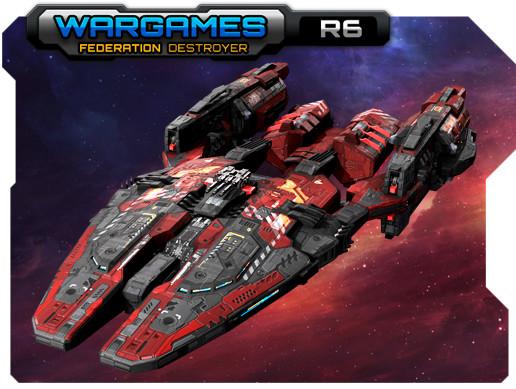 Federation Destroyer R6