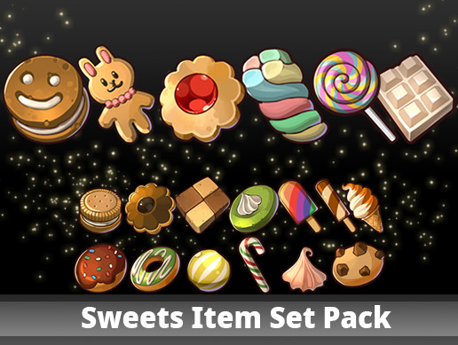 Sweets Item Set Pack